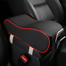 KKYSYELVA1PCS Car Universal Armrest Box Mats Car Interior Armrest Pad Leather Styling Auto Interior Accessories interior