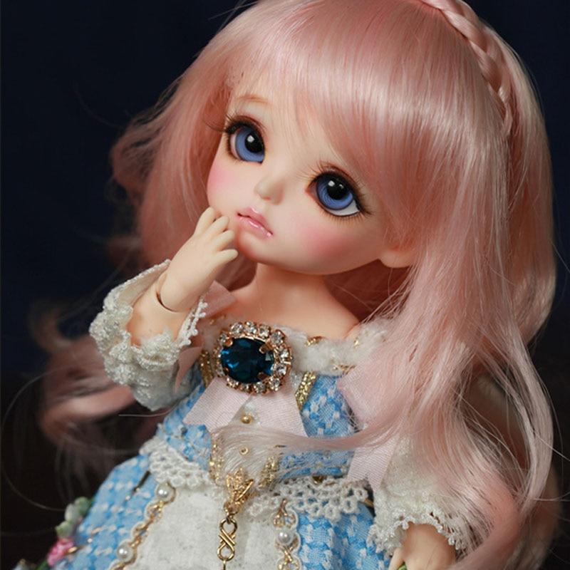 1 8 BJD dolls BJD happy Fashion cute yellow happy doll with eyes for little girls