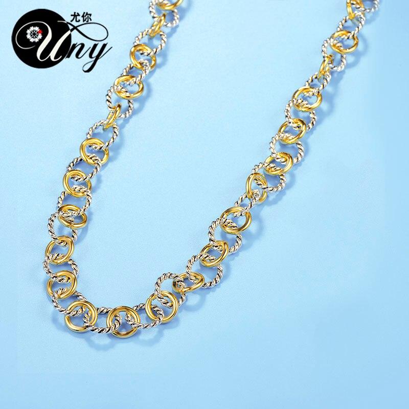 UNY Naszyjnik Styl Trendy Elegancki Vintage Retro Unikalny David - Modna biżuteria - Zdjęcie 5