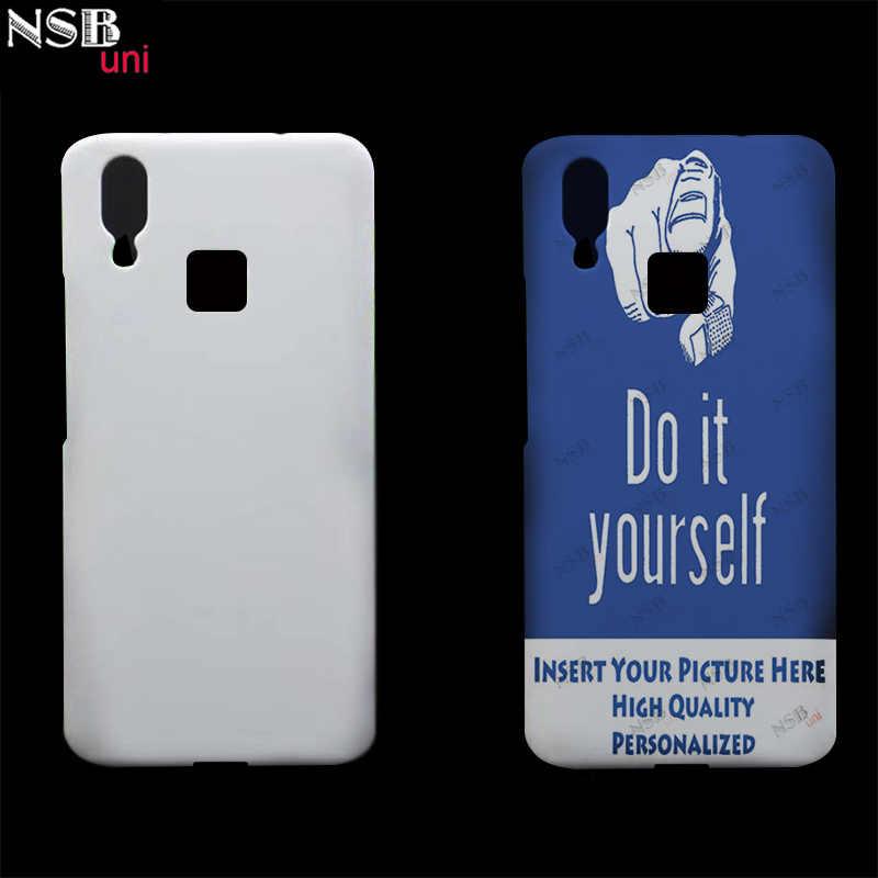 NSB uni ل فيفو X21 Hark الظهر جراب هاتف هاتف محمول فارغة غطاء ل Sublimaiotn ثلاثية الأبعاد التغطية الكاملة طباعة حقيبة هاتف محمول