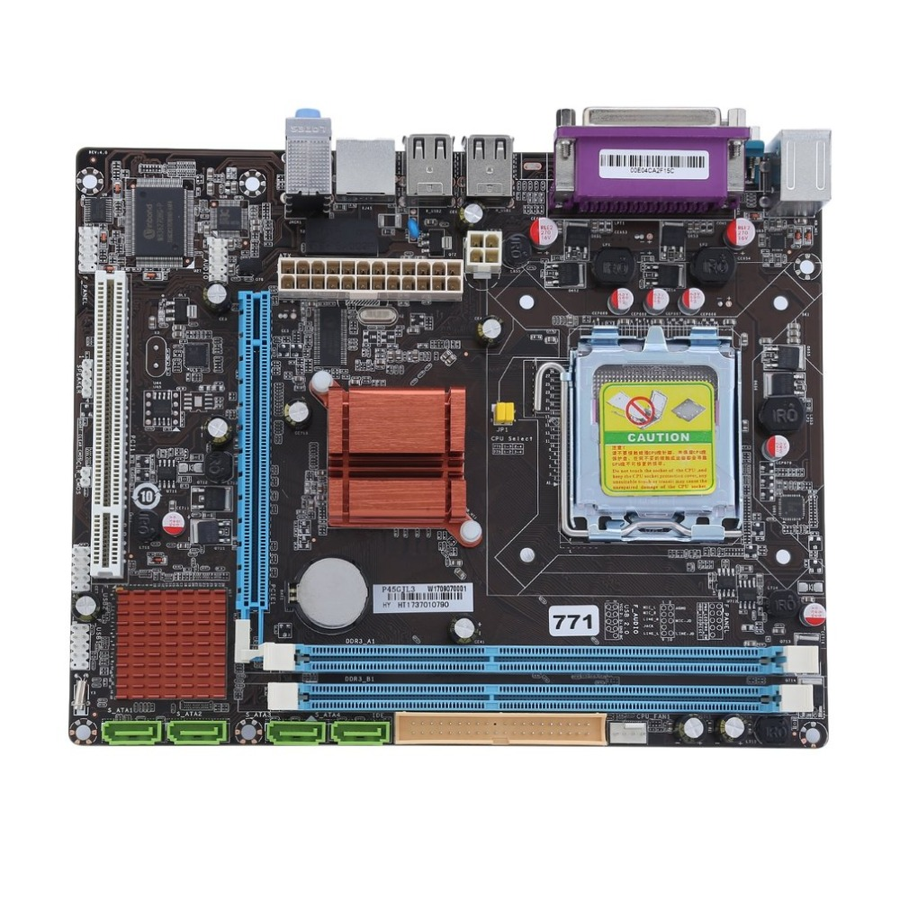 Intel P45-771/775 A1 Practical Desktop Computer Mainboard For Intel P45 Motherboard Supports For DDR3 1066 1333MHz g190eg01 v 1 g190eg01 v1 lcd display screens