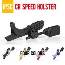 PPT 1911 holster tactical IPSC Pistole Holster BK Blau Rot Gelb CR Geschwindigkeit Holster Wettbewerb Schießen Im Freien Sport PP7-0021