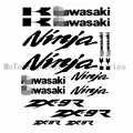 Brand New Motorcycle Decal Cutout Sticker Full Decals Stickers Graphics Set Kit Logo For ninja ZX9R