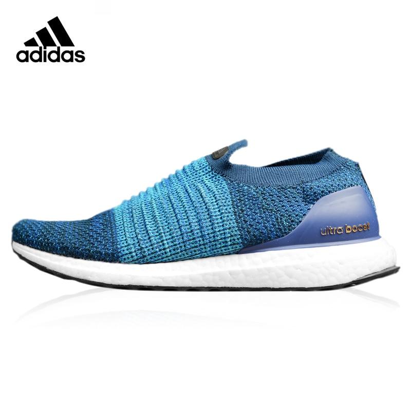 Adidas Ultra Boost Uncaged Laceless 5,0, Männer Skateboard Schuhe Turnschuhe, Männer Der Komfort Schuhe, Blau Farbe S80695 Eur Größe M
