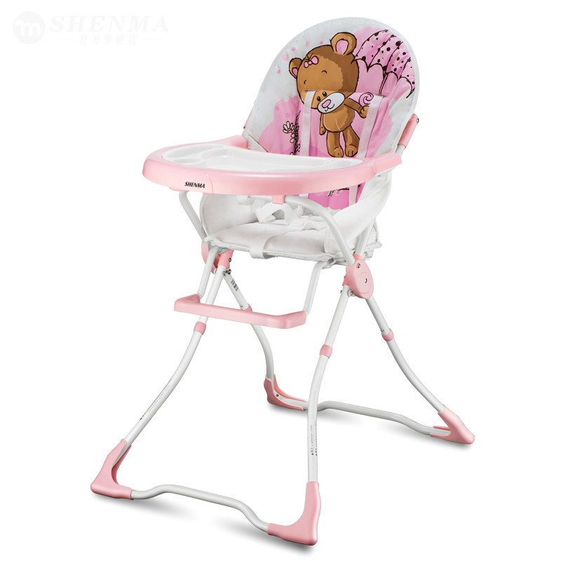 Multifunction portable baby dining chair children booster seats safety feeding highchair folding child eating chair for toddlers