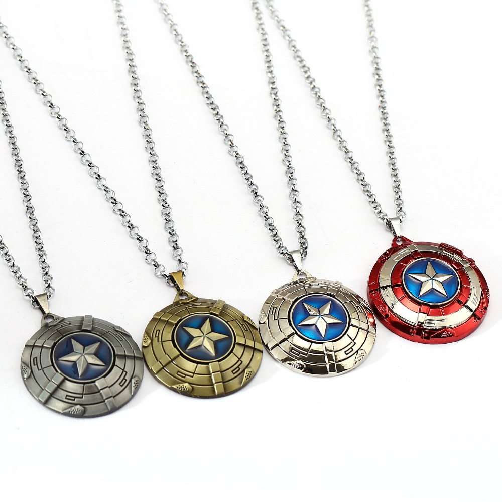 Captain America Necklace  1