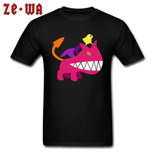 Mother 3 Ultimate Chimera Pink Monster Funny Tshirts 100% Cotton Fabric Round Collar Mens Tops T Shirt Cute Cartoon Tshirt