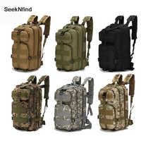 1000D Nylon Taktische Militärische Rucksack Wasserdicht Armee Tasche Outdoor Sport-Rucksack Camping Wandern Angeln Jagd 30L Tasche