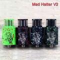 100% Оригинал Mad Hatter V2 RDA by Advken rebuidalble распылителя Скорость стиль палуба быстрая доставка