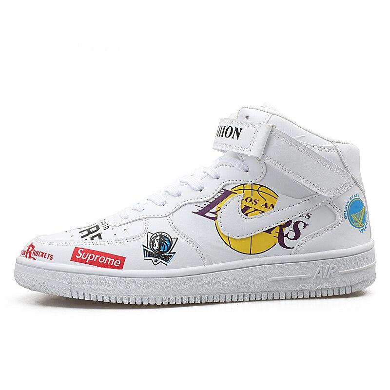 Graffiti Hanche Hop Black white Chaussures Bottes 46 Taille Sneakers Hommes Top Décontractées 39 Grande 45d50 Hip High Superstar aTOzYn