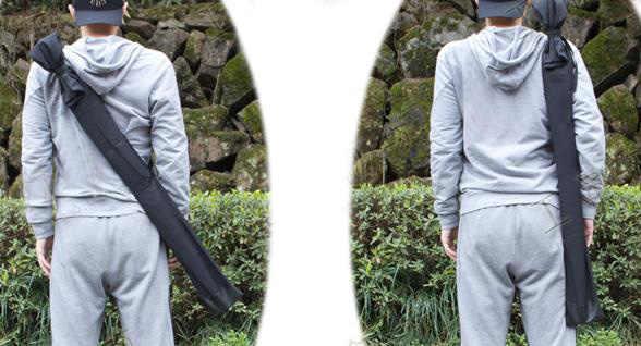 Катана хлопковые сумки бамбуковый нож swordsman мешок утолщение kendo бамбуковый Меч сумка мультяшный Нож Меч