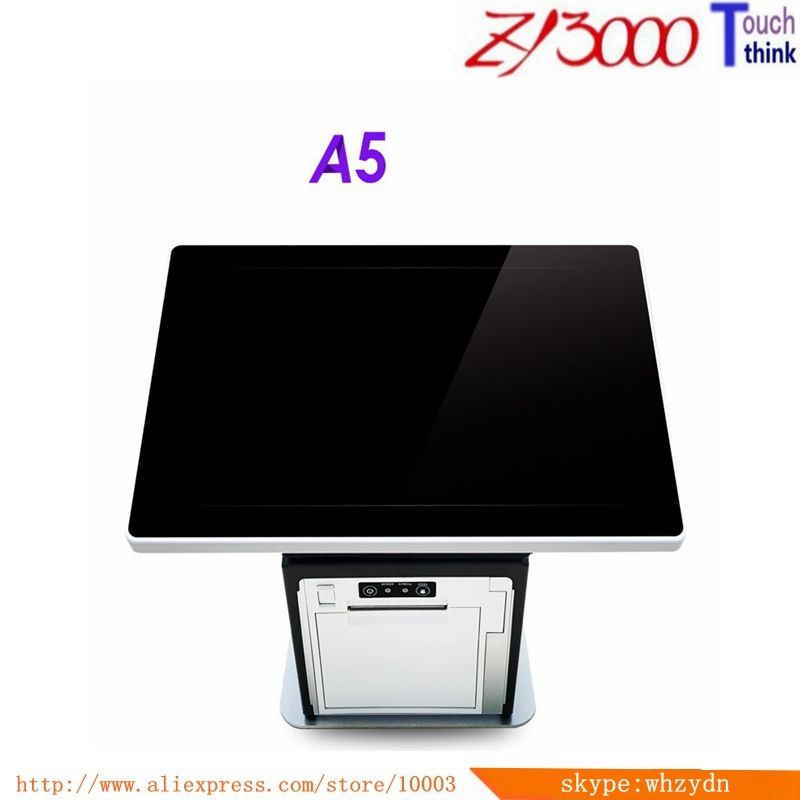 New Stock 10.1 Double Multi Capacitive Touch Screen All In One android 6.0 Epos System