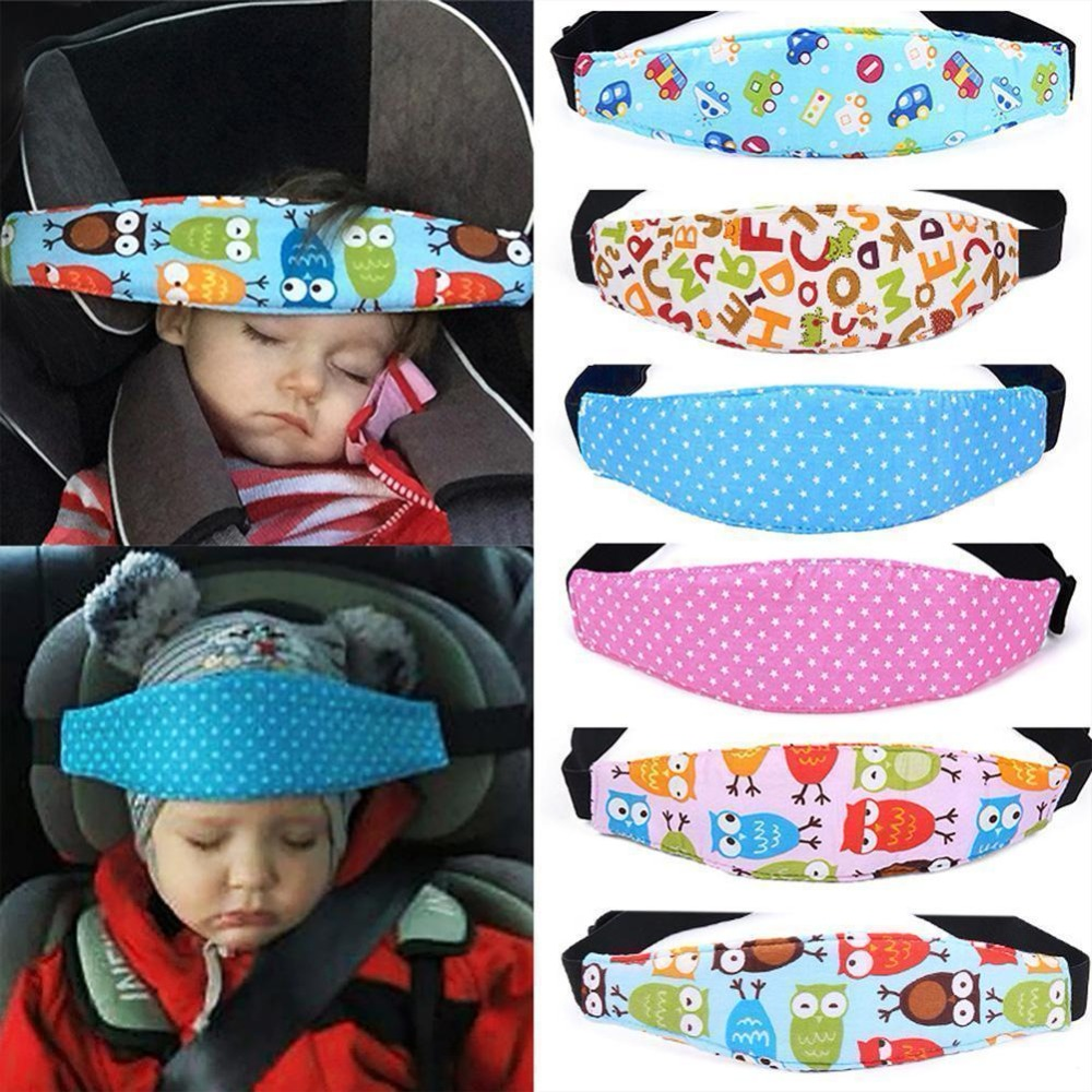 Universal Suitable for Both Children and Adults Infants Toddlers and Adults Safety Car Sleeping Headrest for Child Head Protect Pad on Child Car Seat Adjustable Child Car Seat Head Support Red