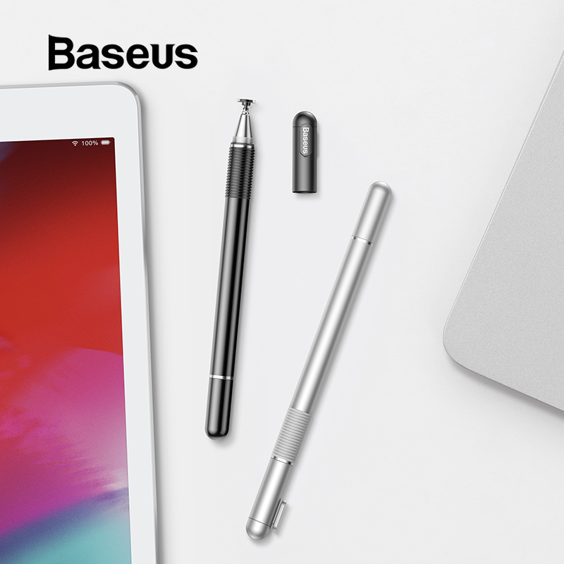 Baseus Capacitive Stylus Pen for iPad Pro 12.9 Double Use Touch Pen for Apple iPad 9.7 Samsung Huawei Xiaomi Tablet AccessoriesBaseus Capacitive Stylus Pen for iPad Pro 12.9 Double Use Touch Pen for Apple iPad 9.7 Samsung Huawei Xiaomi Tablet Accessories