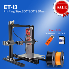 New Aliexpress Prusa i3 3D Printer Parts 3D Metal Printer for Personal DIY Use 3D Impresora