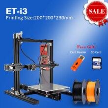 Nueva Aliexpress i3 Prusa 3D Piezas de La Impresora Impresora de Metal 3D para el Uso Personal de BRICOLAJE Impresora 3D con Montaje de Vídeo Enseñanza