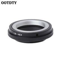 OOTDTY L39 NEX Monte Anello Adattatore Per Leica L39 M39 Lente per Sony NEX 3/C3/5/5n/6/7 Nuovo