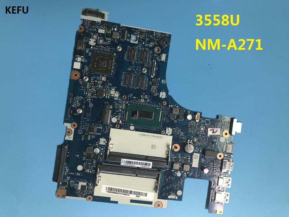 KEFU 558U Processor ACLUA ACLUB NM A271 Main Board With 2GB video card Fit For Lenovo