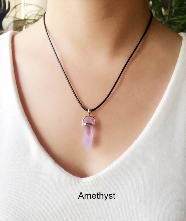quartz necklace 4.69USD (11)