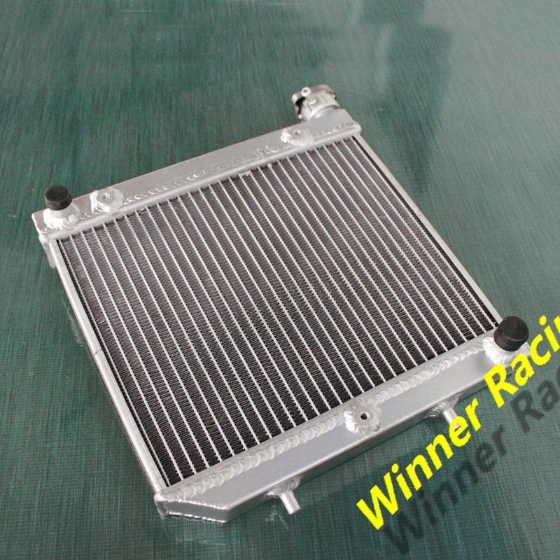 ФОТО ATV Parts accessories radiator Hi-performance aluminum radiator For Honda ATV TRX450R TRX 450 2004-2009 2005 2006 2007 2008