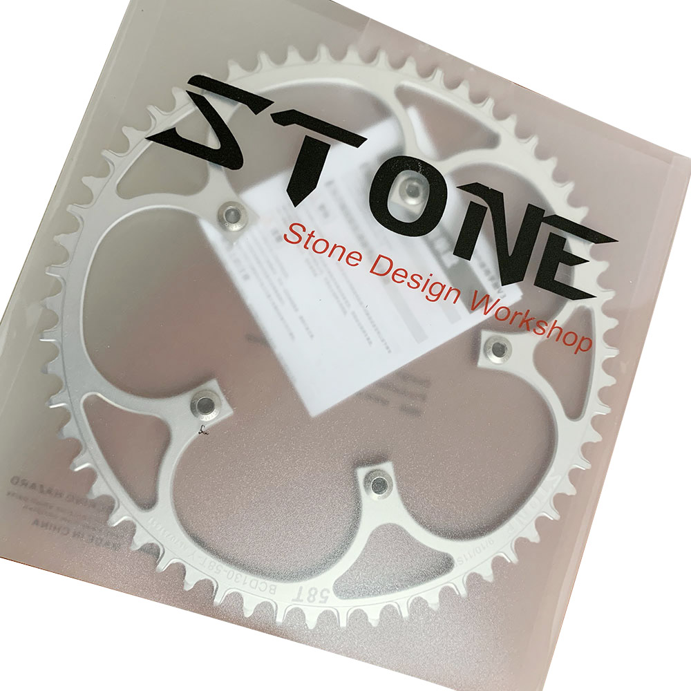 Stone Circle Round Chainring BCD 130mm 5 Bolts For Road Bike CX Cyclocross Folding Bike Chainwheel