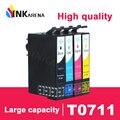 Чернильный картридж для Epson T0711 T0712 T0713 T0714 картриджи для принтера Stylus SX215 SX218 SX400 SX405 SX405 SX410 SX415 SX510W