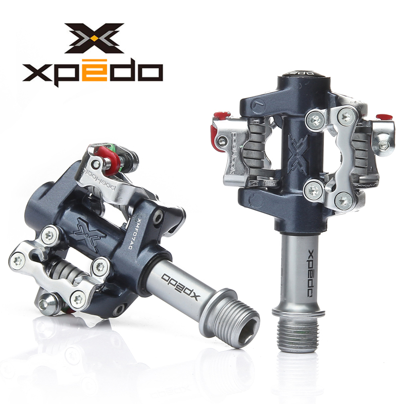 wellgo Xpedo bicycle pedal bearings ultralight 288g MTB mountain bike pedals XPD self-locking clipless pedales bicicleta clip rockbros 9 16 magnesium alloy bicycle pedal titanium spindle ultralight mountain bike pedal 5 colors