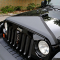 Hot Selling Auto Accessories Black Canvas T-Style Engine Bonnets No Mark for Wrangler 2007-2015 car styling