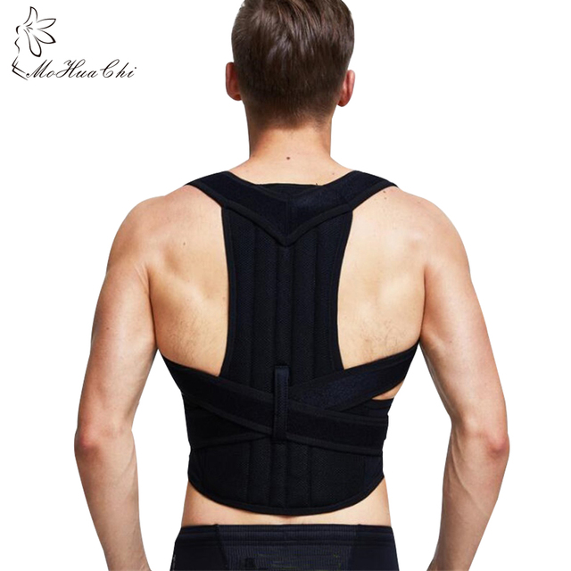 Humpback Correction Back Brace Spine Orthosis Scoliosis Lumbar Support  Spinal Curved Fixation Posture corrector