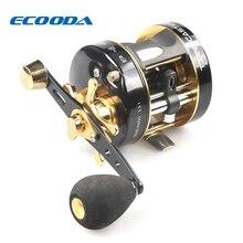 ECOODA Baitcasting Fishing Reel Trolling Reel Snakehead Reel Light Jigging Reel Left Right hand ETC II