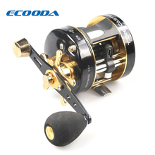 ECOODA Baitcasting Fishing Reel Trolling Reel Snakehead Reel Light Jigging Reel Left/Right hand ETC II 40A/L&ETC II 50A/L 5.3:1
