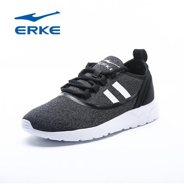 Ерке горячая Распродажа спортивные прогулочная обувь для женщин 2017 городской беговые кроссовки фирменные амортизацией спортивные туфли для дам
