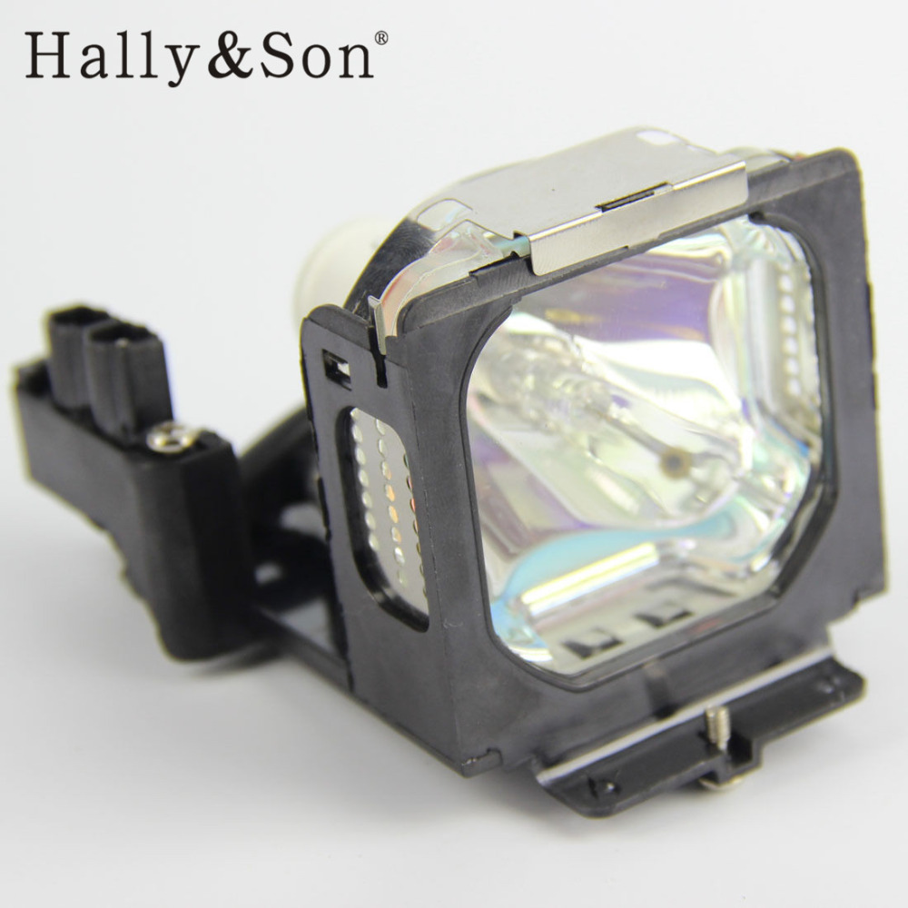 Hally&Son Compatible Projector Lamp Bulb LV-LP15 / 8441A001AA with housing for CANON LV-X2 / LV-X2E compatible bare bulb lv lp33 4824b001 for canon lv 7590 projector lamp bulb without housing