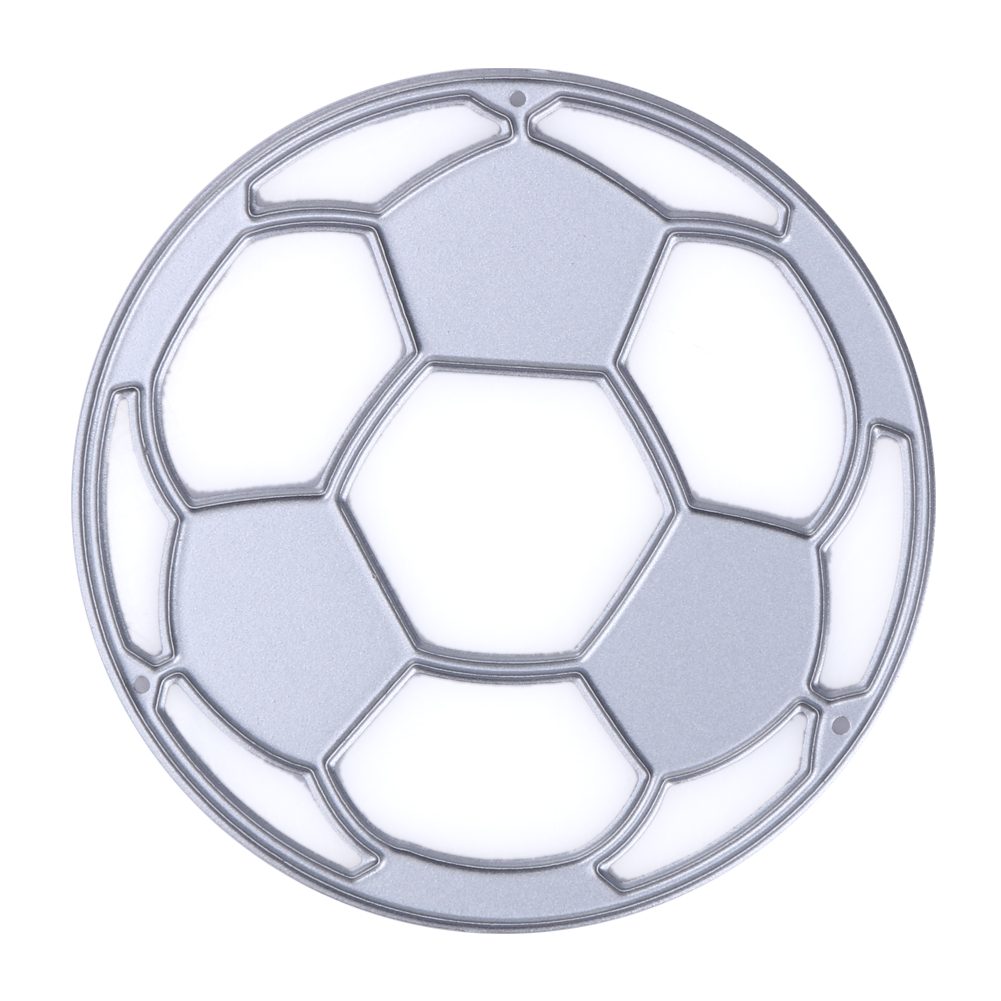 Large Football Stencil : Football design cutting dies stencils for diy scrapbooking
