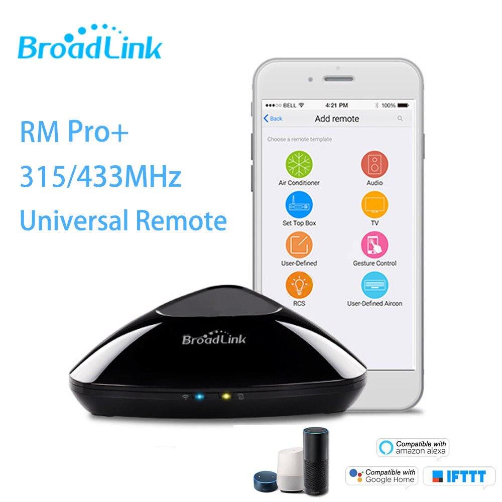 Télécommande originale RM Pro + WiFi + IR + RF 315/433 MHz pour Alexa Google Home IFTTT AU royaume-uni