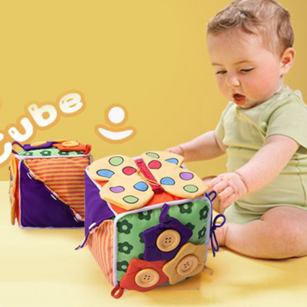 Cloth Fabric Blocks Soft Action Kid Play Educational Toy Preschool Learn To Dress Cute Baby Game Birthday Gift in Blocks from Toys Hobbies