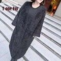 2017 Recién Llegado de Genuine Mink Suéter de Cachemira de Visón Real Abrigo de Cachemir Cardigans Abrigo Caliente Espesa Moda KFP871