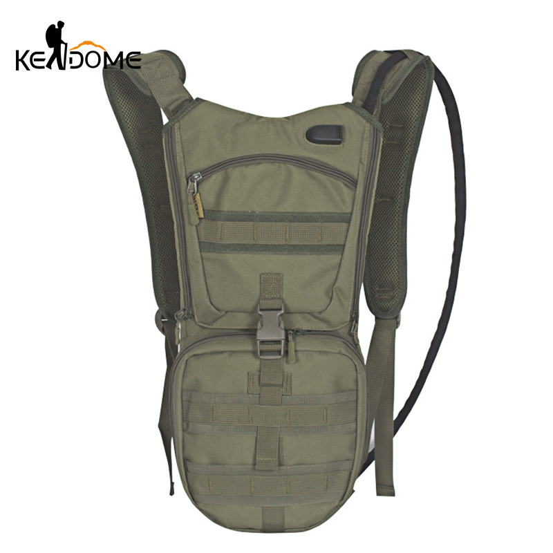 2.5L Molle Military Tactical Hydration Water Bag Backpack Ou