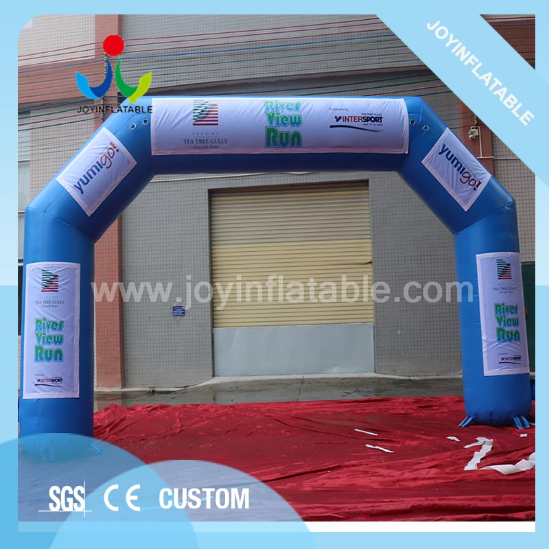 Outdoor arch gate inflatable advertising arches door for event