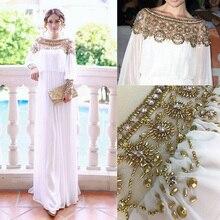 2020 חדש מוסלמי העבאיה שמלת תורכי נשים בגדי כבד חרוזים שיפון אסלאמי מוסלמי ארוך שרוול שמלות גלימה ערבית מרוקאי