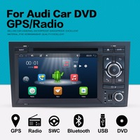 Android 7 1 Two Din 7 Inch Car DVD Player Stereo System For Audi A4 2003