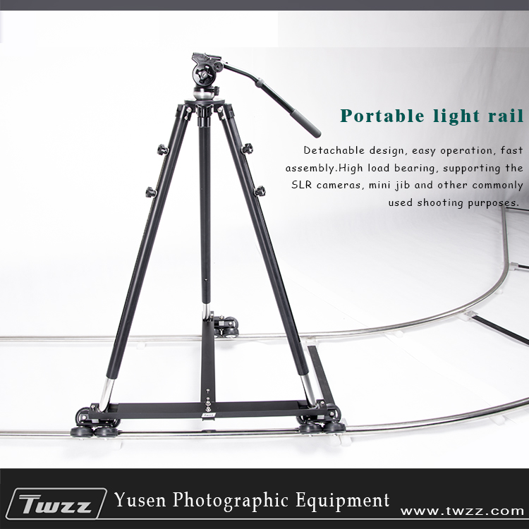 METRIX 6m Camera Rail Dolly Track With T-Shape Dolly Video Slider For Movie Photography DSLR цена и фото