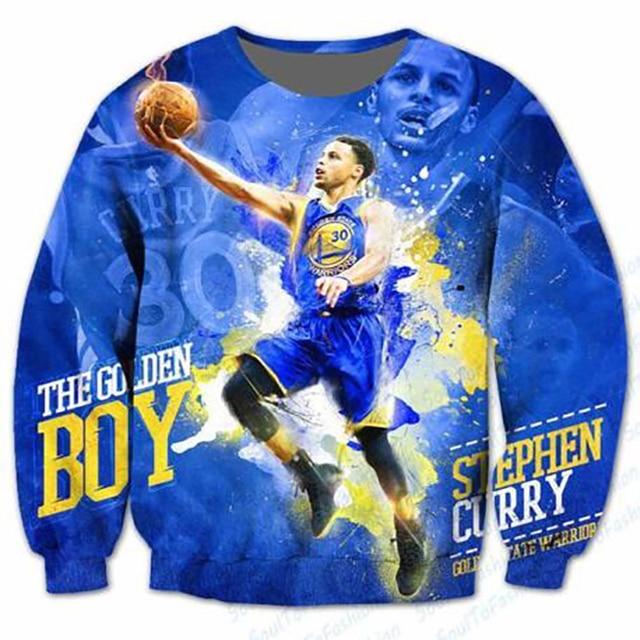 New Fashion Mens/Womens Stephen Curry 3D Print Sweatshirt Hoodies S M L XL XXL 3XL 4XL 5XL 6XL