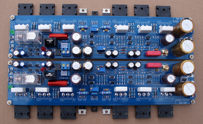 Assembled 2.0 Channel Class A 50W+50W Hifi Power Amplifier Board Inspired By KSA50 Contain The Transistor amplifier board 2 channel l20 se power amplifier finished board transistor amplifier kit a1943 c5200 350w 350w