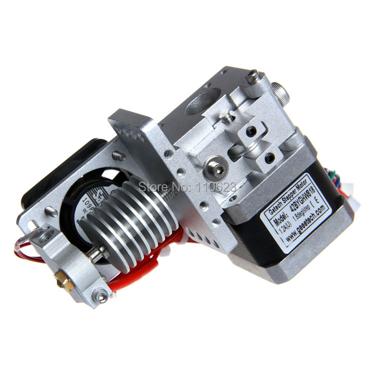 Geeetech GT9S Assembled 3D Printer Bowden Extruder 0 3 0 35 0 4 0 5mm Nozzle