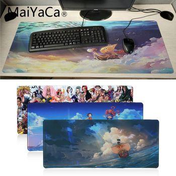 Maiyaca una pieza Japón anime de goma alfombrilla de ratón Pad alfombrilla de ratón de juego xxl velocidad alfombrilla para teclado y ratón PC portátil de escritorio