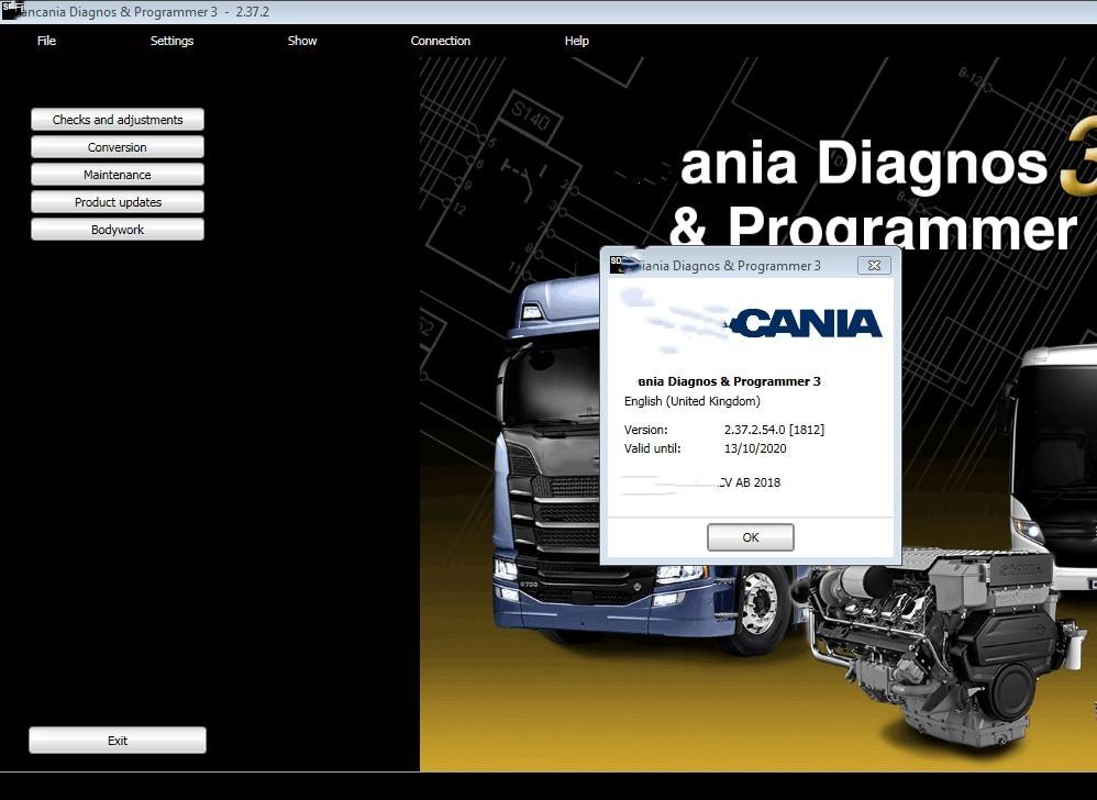 SDP3 V2.38 VCI 3 OBD2 Diagnostiquer Logiciel de Programmation pour Scania SDP 3 VCI3 VCI-3 sans USB Dongle