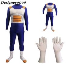 Anime cosplay DRAGON BALLZ (Zetto) Vegeta IV Cosplay costume onesies gloves Halloween costumes Adult and kids COS clothing