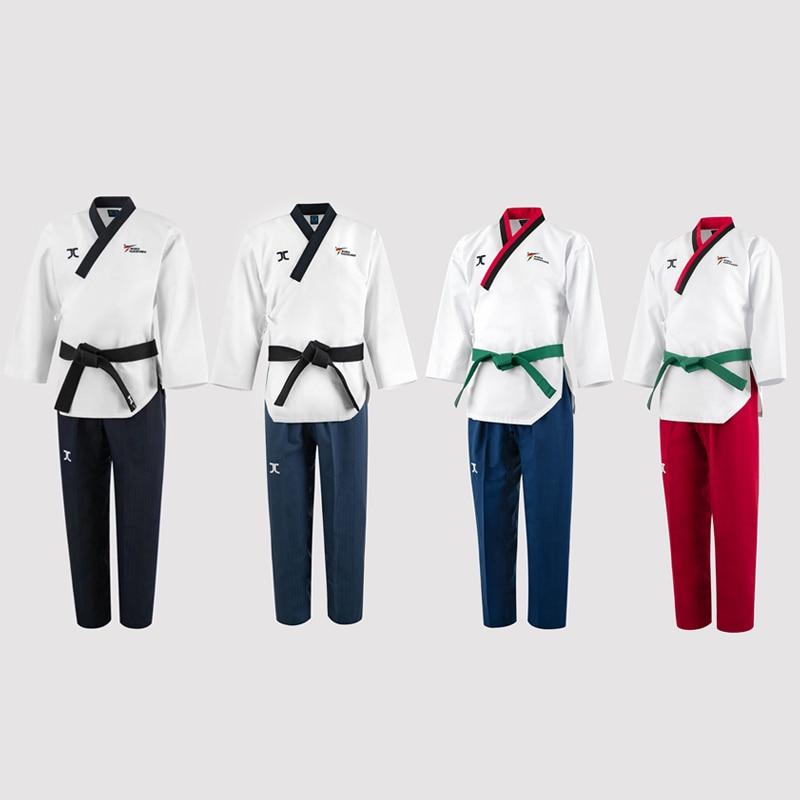 Original Jcalicu World Taekwondo Poomsae Dan doboks JC WT Junior Dan Male Female Senior Dan Unisex