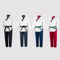 Original Jcalicu World Taekwondo Poomsae Dan doboks JC WT Junior Dan Male&Female Senior Dan Unisex Master Dan Taekwondo uniforms